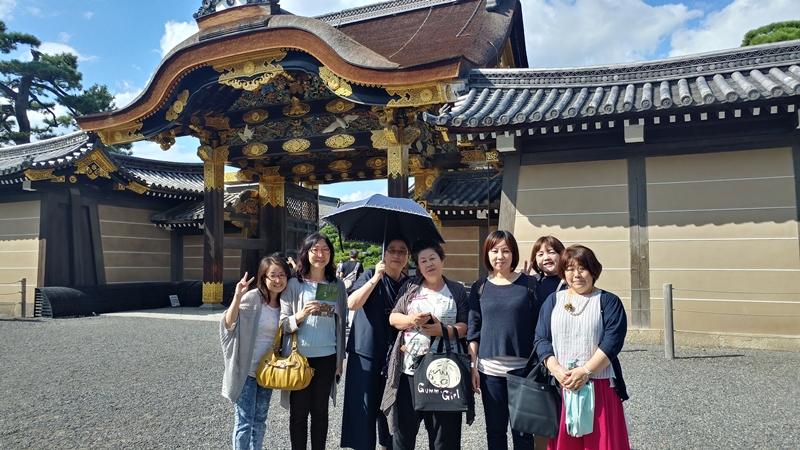 お客様とのお出かけ‐京都