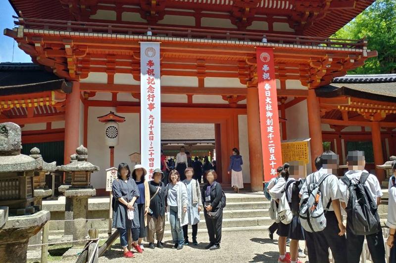 サロンのお客様と奈良の春日大社へ